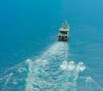 Una de las embarcaciones utilizadas por Cairn Energy para las prospecciones sísmicas.