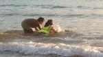 Intento de salvar a un delfín en Gorliz (J.M.M.)